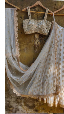 Elegant Replica Patterned  Lehenga